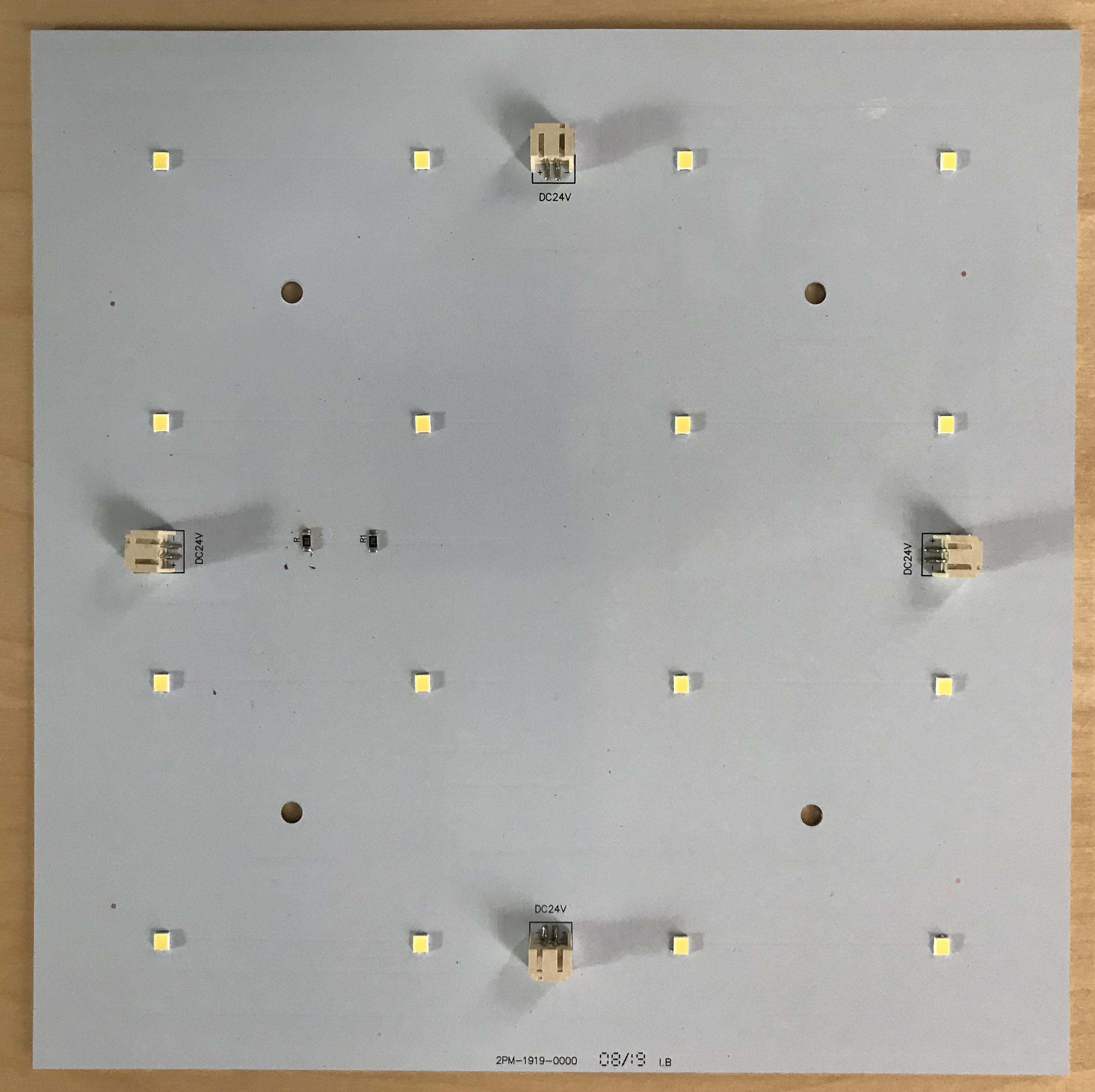 Title image of 24×24 LED Sheet