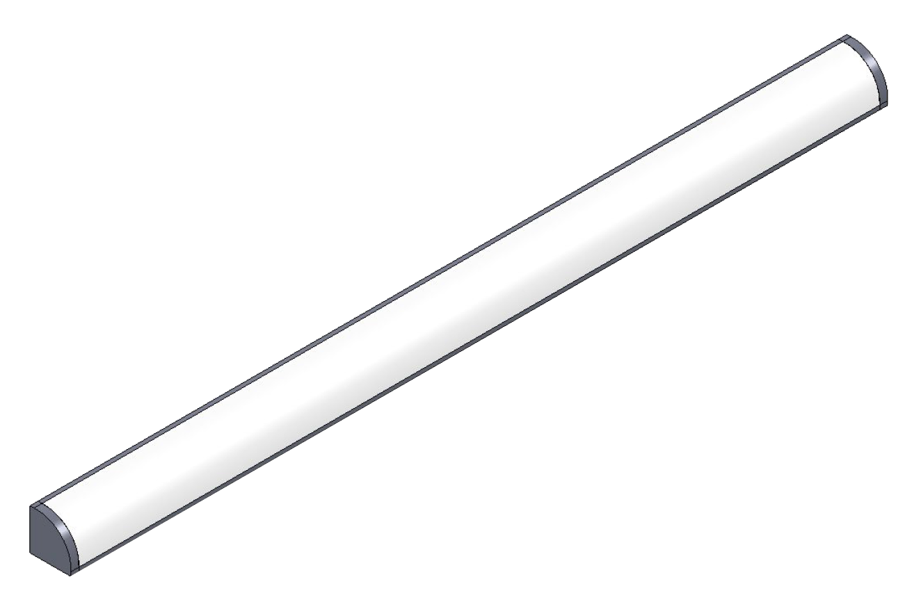 Title image of 									Linearline ALU 10 CORNER linear