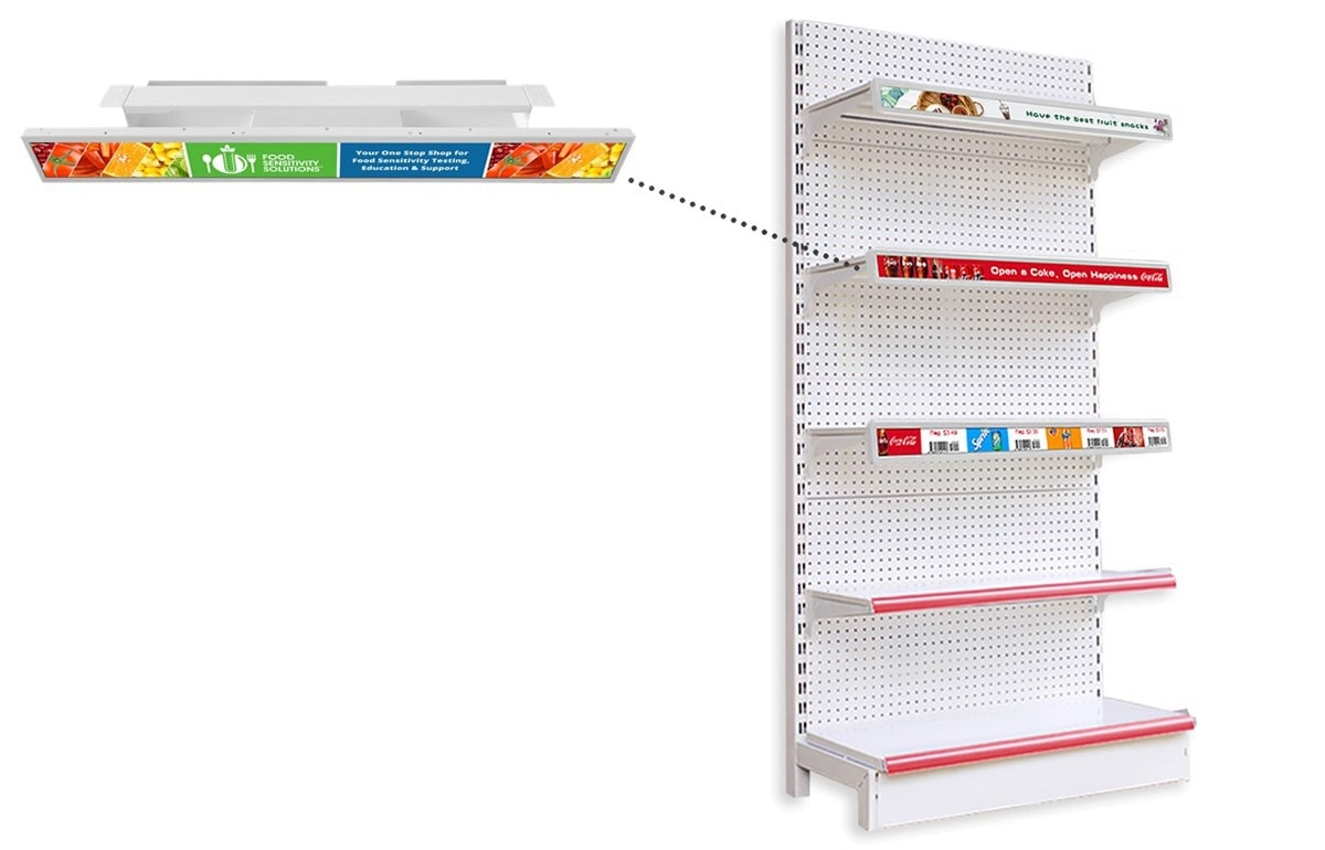 retail shelf edge display